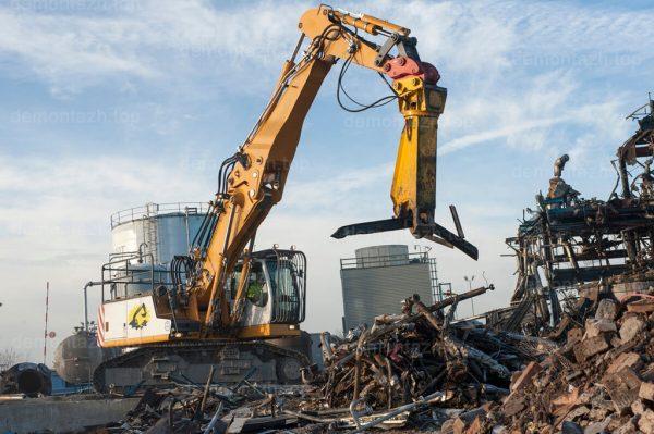 Профессиональный снос и демонтаж фабрик и заводов