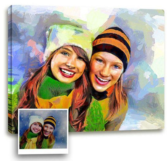 Виды портретов для заказа на сайте Hudognik.net