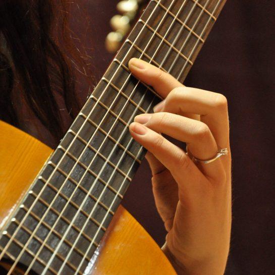 Быстрый поиск гитарных аккордов и слов