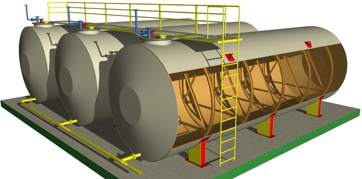 Изготовление резервуаров и металлоконструкций