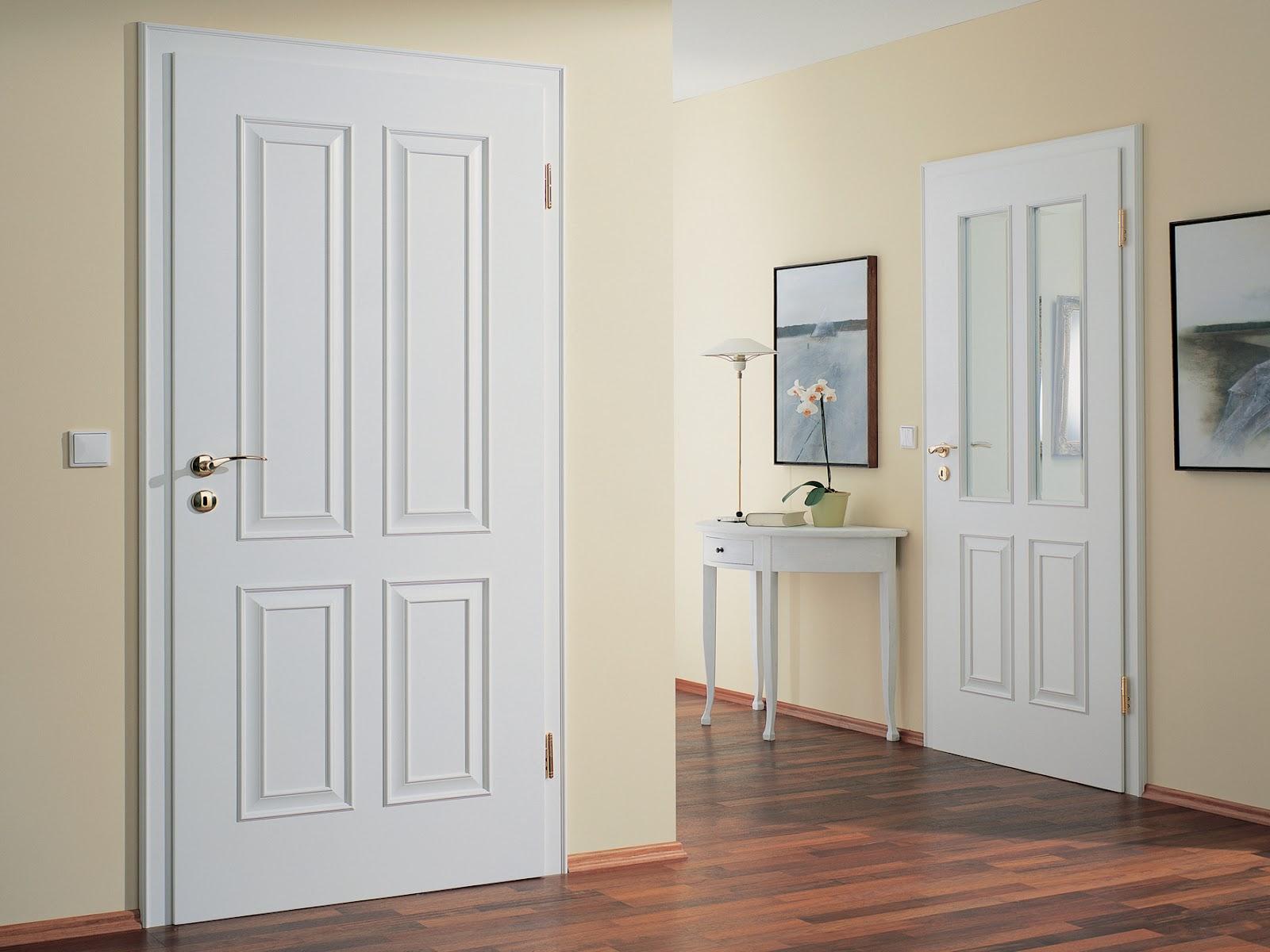 Межкомнатные двери в классических цветовых решениях