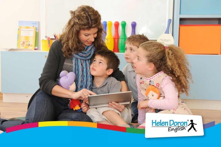 Курсы английского языка Helen Doron для детей в Новосибирске