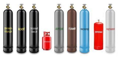 Профессиональная заправка газовой смесью К-25