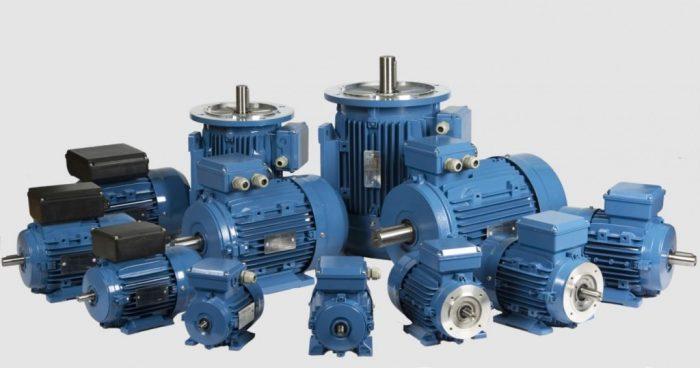 Асинхронный общепромышленный электродвигатель с короткозамкнутым ротором