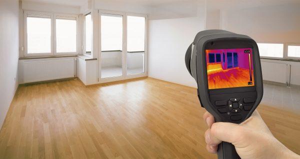 Тепловизионное обследование квартир и домов в Москве